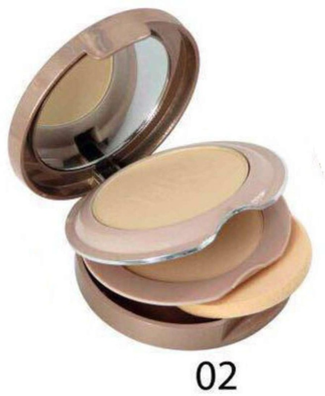 Hilary Rhoda HR-0804 HD High Definition Pressed Powder For Smooth Skin Compact -Beige Compact(Beige -02, 18 g)