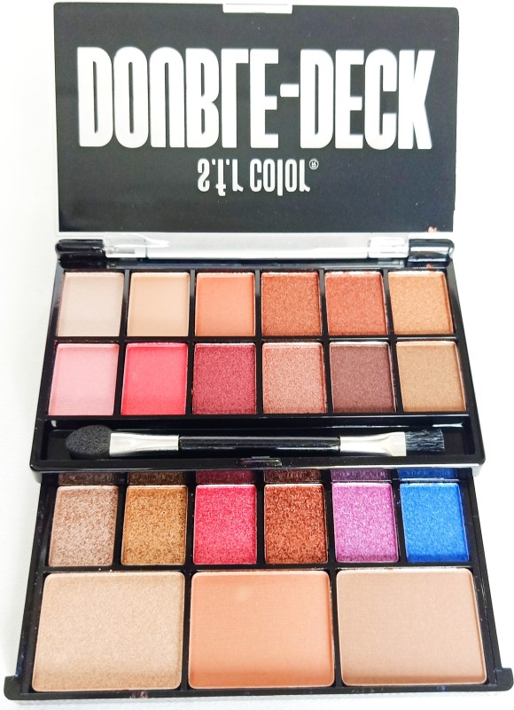sfr Double Deck Professional Makeup Kit (Eyes & Face))