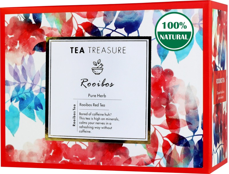 TeaTreasure Pure Rooibos Tea Box(18 Bags)