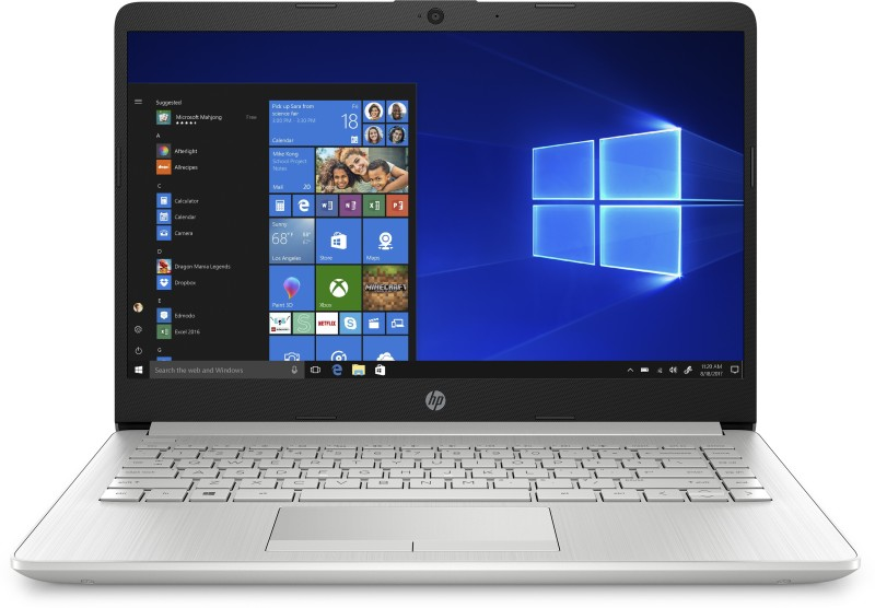 HP 14s Core i3 10th Gen - (4 GB/1 TB HDD/Windows 10 Home) 14s-cf3006TU Thin and Light Laptop(14 inch, Natural Silver, 1.51 kg, With MS Office)