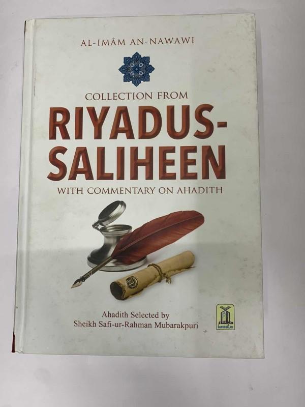 Collection From Riyadh Us Saliheen (With Commentary On Ahadith) Color Edition(Hardcover, Sheikh Safi-ur-Rahman Mubarakpuri)