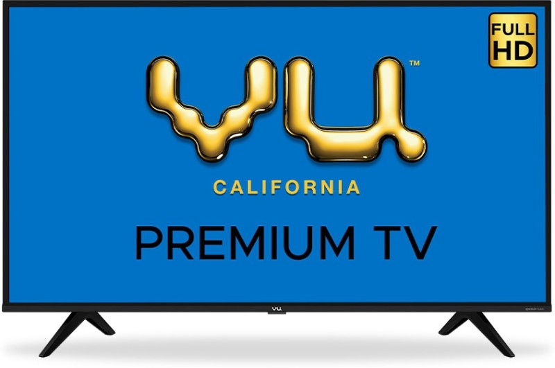 Vu Premium 108 cm (43 inch) Full HD LED Smart Android TV(43US)