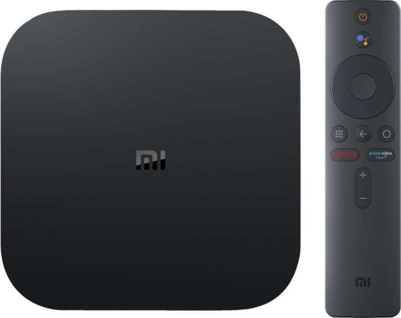 Mi Box 4k Media Streaming Device(Black)