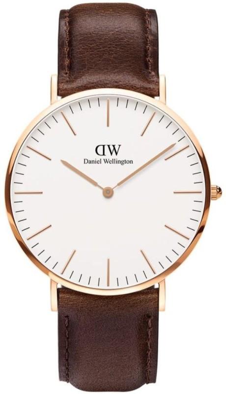 Daniel Wellington DW00100009 Classic Bristol Analog Watch - For Men
