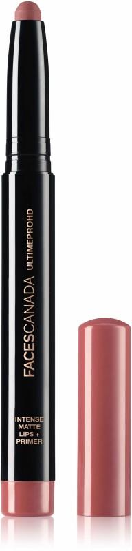 Faces Canada Ultime Pro HD Intense Matte Lips + Primer 10 Tea Rose 1.4g(Tea Rose 10, 1.4 g)
