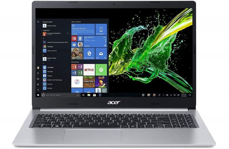 Acer Aspire 5 Core i3 8th Gen - (4 GB/512 GB SSD/Windows 10 Home) A515-54 Thin and Light Laptop(15.6 inch, Silver, 1.8 kg, With MS Office)