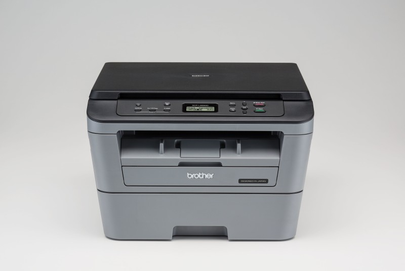 Brother DCP-L2520D Multi-function Monochrome Printer(Grey, Toner Cartridge)