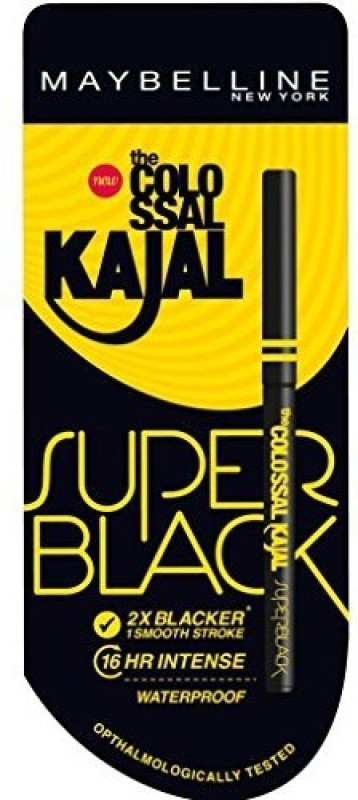 Maybelline New York Colossal Super Black kajal 0.35 g(black)