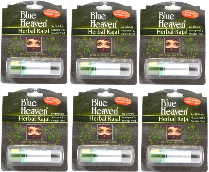 Blue Heaven HERBAL KAJAL(BLACK, 18 g)