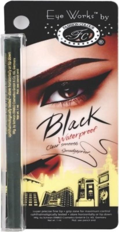 Fashion Colour German Eye pencil(SUPER BLACK, 1 ml)