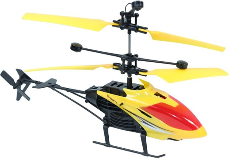 Tector Exceed Induction Flight Rc Helicopter(Yellow)