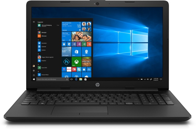 HP 15 Core i3 8th Gen - (4 GB/1 TB HDD/Windows 10 Home/2 GB Graphics) 15-Di0000TX Laptop(15.6 inch, Jet Black, 2.18 kg, With MS Office)