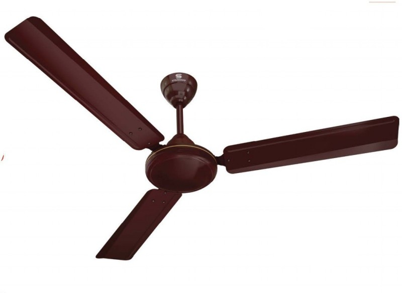 Havells STANDARD ZOE CEILING FAN 1200MM BROWN 1200 mm 3 Blade Ceiling Fan(BROWN, Pack of 1)