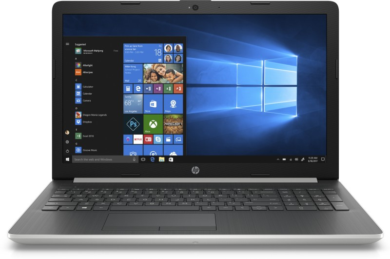 HP 15 Ryzen 3 Dual Core - (4 GB/1 TB HDD/Windows 10 Home) 15-db 1059AU Laptop(15.6 inch, Natural Silver, 1.9 kg, With MS Office)