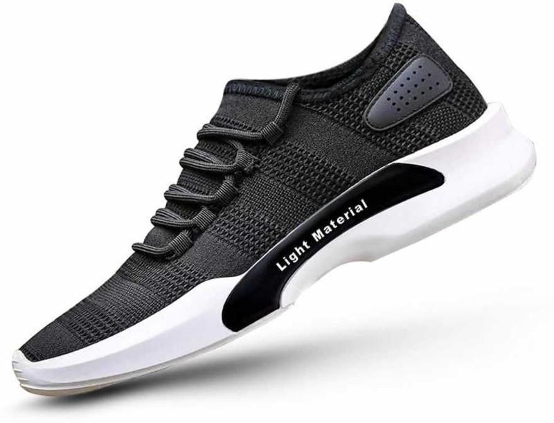 GS Running Shoes Walking Shoes For Men(Black)