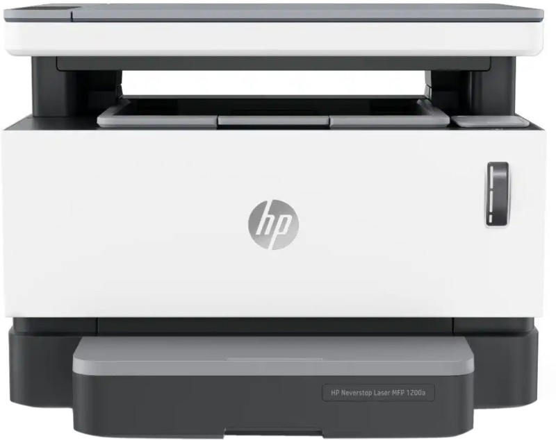 HP 1200a Multi-function Monochrome Printer(White, Grey, Toner Cartridge)