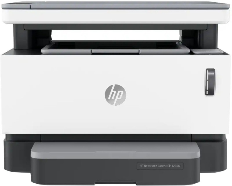 HP 1200w Multi-function WiFi Monochrome Printer(White, Grey, Toner Cartridge)