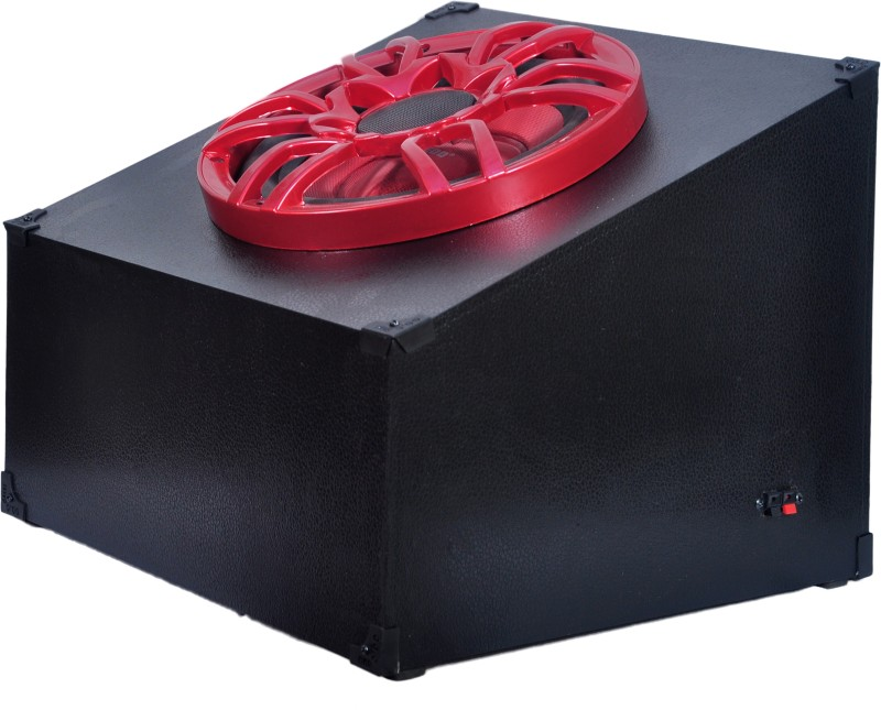 "FREDO AIT10RED 10"" Ruby Red Passive/Sealed AutoGrade/Home Audio Subwoofer 8 Ohms/RMS 100Watts. PMPO 3600Watts Subwoofer(Passive , RMS Power: 100 W)"