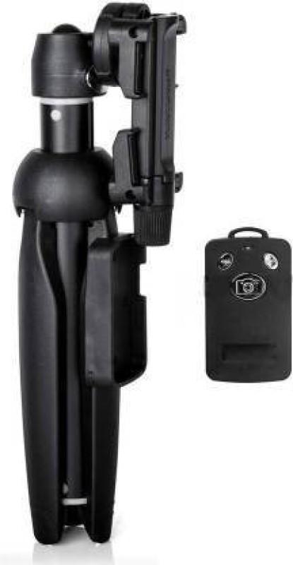 BLENDIA Wireless Bluetooth Remote Extendable Selfie Stick Monopod Tripod Phone Stand Mount Holder Monopod, Tripod (Black, Supports Up to 1400 g) Tripod(Black, Supports Up to 1400 g)