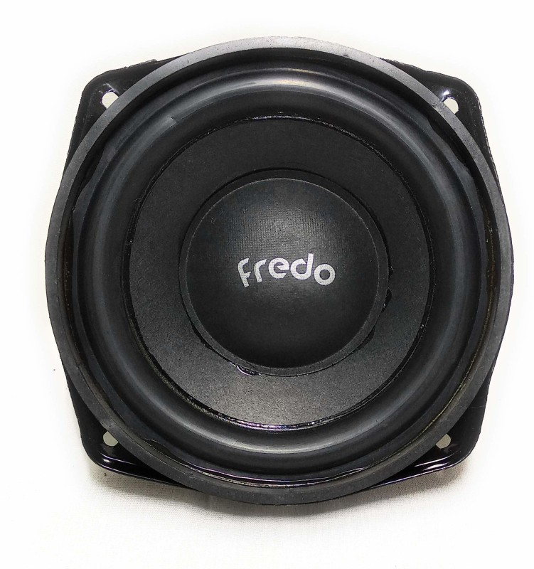 FREDO 5QBLACKP Subwoofer (Pack of 2) 8 Ohms Subwoofer(Passive , RMS Power: 49 W)