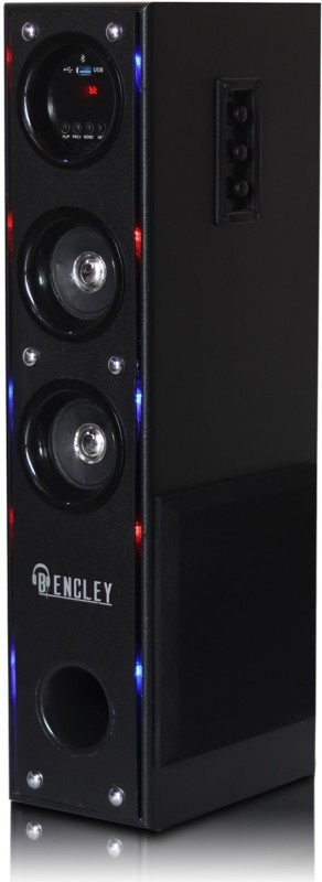 Bencley LED TOWER 70 W Bluetooth Tower Speaker(Black, 2.1 Channel)