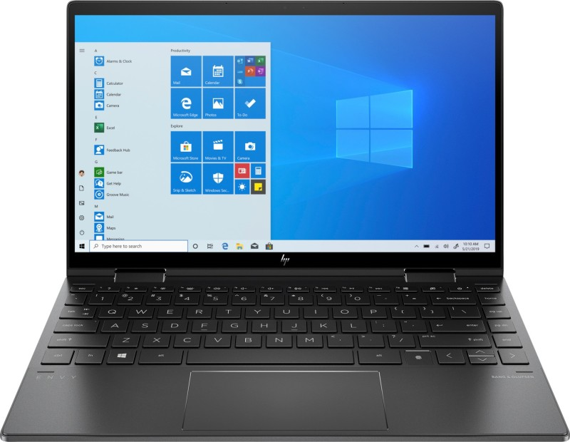 HP Envy x360 Ryzen 5 Hexa Core 4500U - (8 GB/256 GB SSD/Windows 10 Home) 13-ay0044AU 2 in 1 Laptop(13.3 inch, Nightfall Black, 1.32 kg, With MS Office)