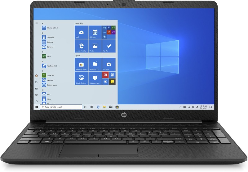 HP 15s Core i3 10th Gen - (4 GB/1 TB HDD/Windows 10 Home) 15s-du2069TU Thin and Light Laptop(15.6 inch, Jet Black, 1.77 kg, With MS Office)
