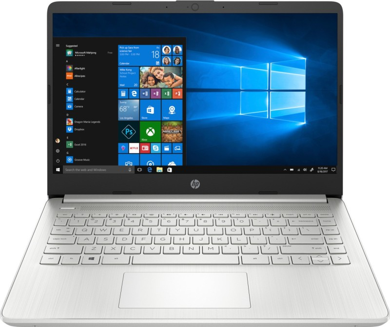HP 14s Core i5 10th Gen - (8 GB/512 GB SSD/Windows 10 Home) 14s- DR1009TU Thin and Light Laptop(14 inch, Natural Silver, 1.46 kg, With MS Office)