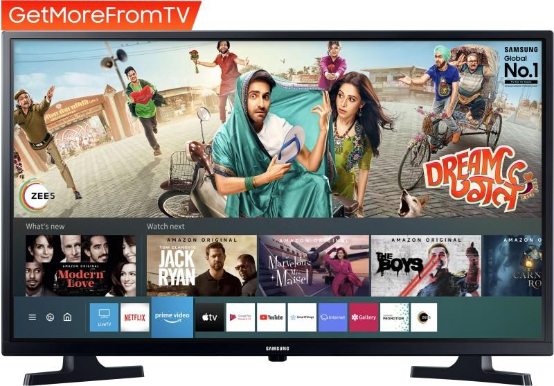 Samsung 80 cm (32 inch) HD Ready LED Smart TV 2020 Edition(UA32T4340AKXXL)