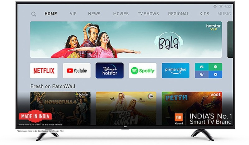 Mi 4X 108 cm (43 inch) Ultra HD (4K) LED Smart Android TV