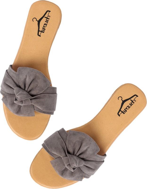 Brauch Women Grey Flats
