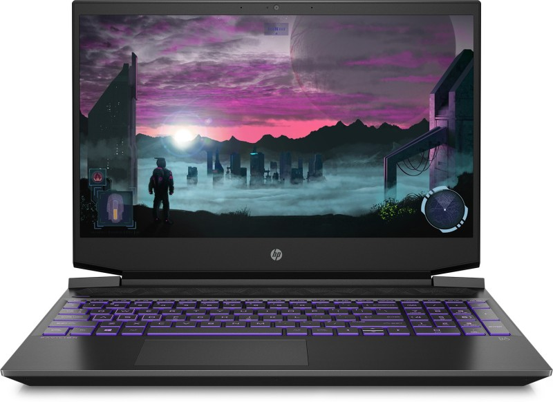 HP Pavilion Gaming Ryzen 5 Quad Core 3550H - (8 GB/512 GB SSD/Windows 10 Home/4 GB Graphics/NVIDIA Geforce GTX 1650) 15-ec0104AX Gaming Laptop(15.6 inch, Black, 1.98 kg)