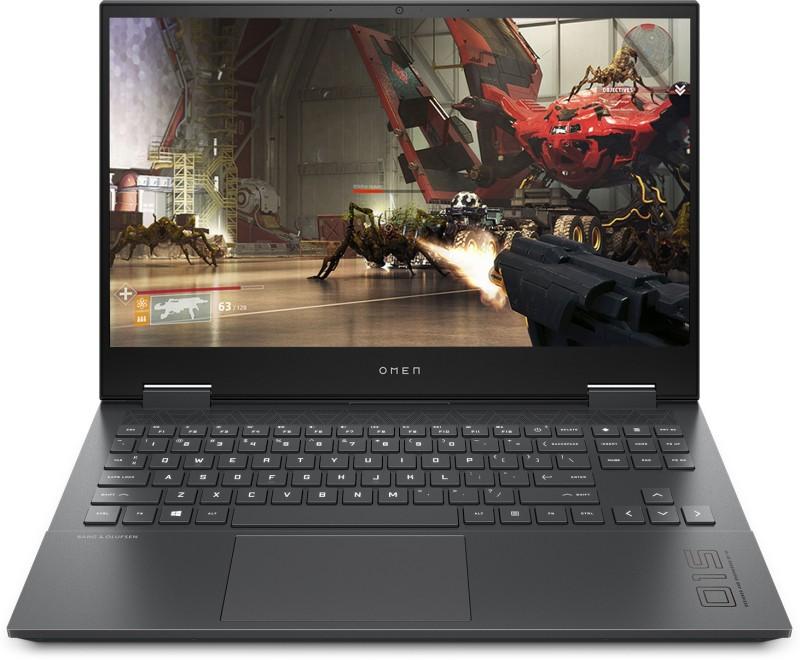 HP Omen Ryzen 5 Hexa Core - (8 GB/512 GB SSD/Windows 10 Home/4 GB Graphics/NVIDIA Geforce GTX 1650 Ti) 15-en0001AX Gaming Laptop(15.6 inch, Mica Silver, 2.37 kg)