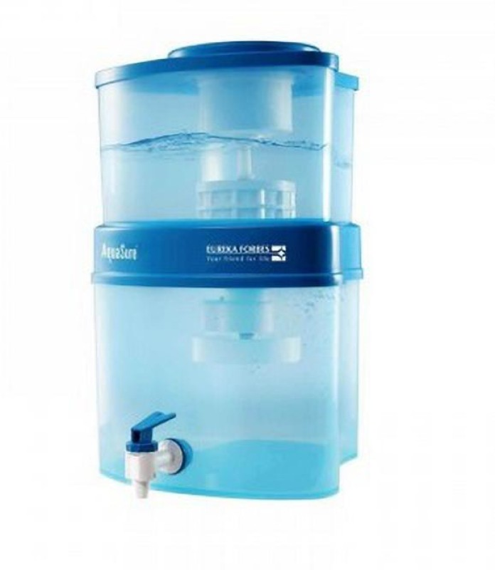 Eureka Forbes Aquasure from Aquaguard BASE2 15 L Gravity Based Water Purifier(Blue)