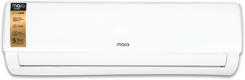 MarQ by Flipkart 1 Ton 3 Star Split Inverter AC - White(FKAC103SIAINC_MPS, Copper Condenser)