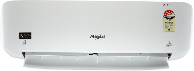 Whirlpool 1 Ton 4 Star Split AC - White(1T 3D COOL XTREME HD 4S_MPS, Aluminium Condenser)