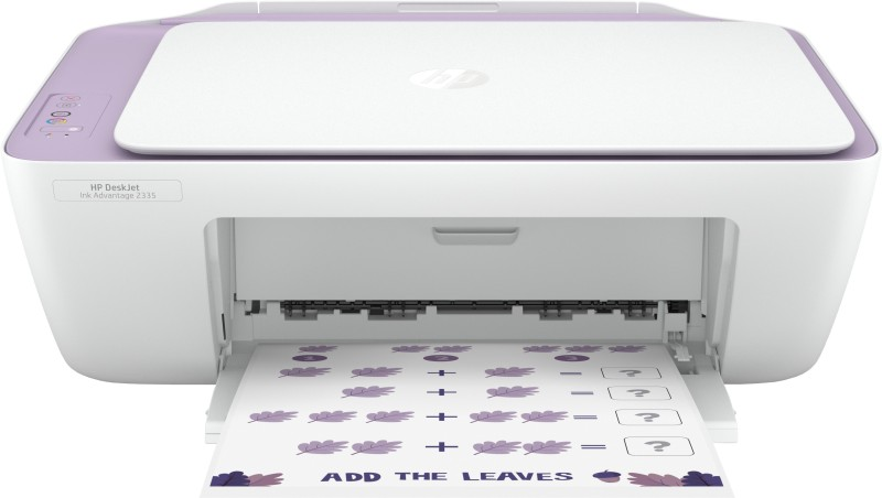 HP DeskJet Ink Advantage 2335 Multi-function Color Printer(White, Purple, Ink Cartridge)