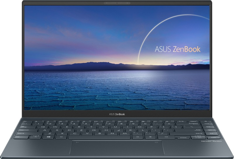 Asus ZenBook 14 Core i5 11th Gen - (8 GB/512 GB SSD/Windows 10 Home) UX425EA-BM501TS Thin and Light Laptop(14 inch, Pine Grey, 1.17 kg, With MS Office)
