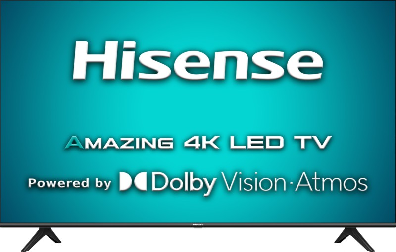 Hisense A71F 108 cm (43 inch) Ultra HD (4K) LED Smart Android TV with Dolby Vision & ATMOS(43A71F)