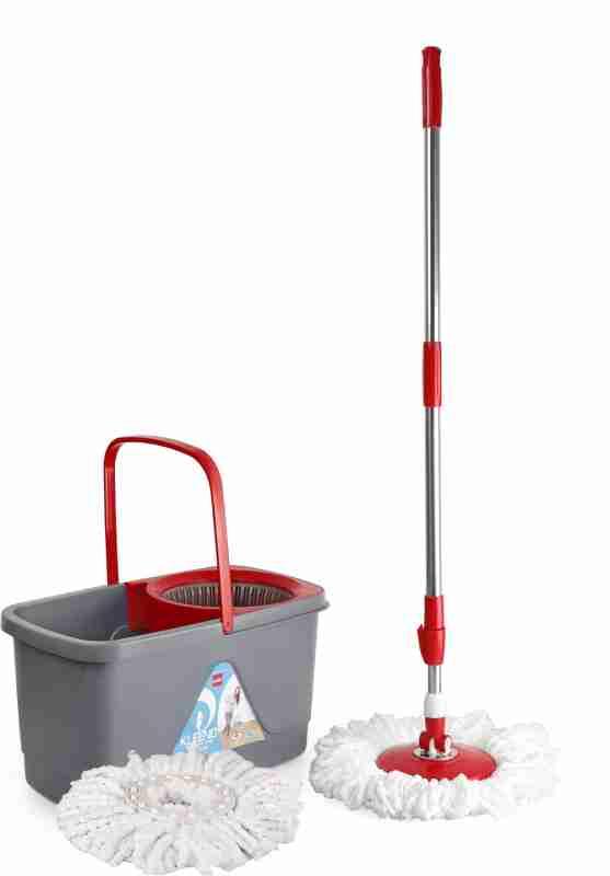 [ PreBook @1₹ ] Cello Kleeno Bucket Spin Mop at Rs.670