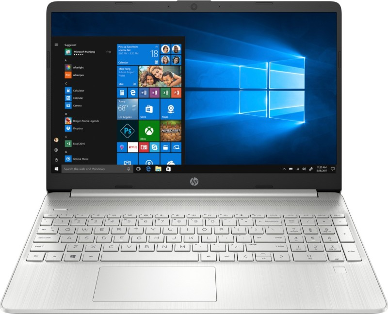 HP 15s Core i5 11th Gen - (8 GB/1 TB SSD/Windows 10 Home) 15s-FR2005TU Thin and Light Laptop(15.6 inch, Silver, 1.75 kg, With MS Office)