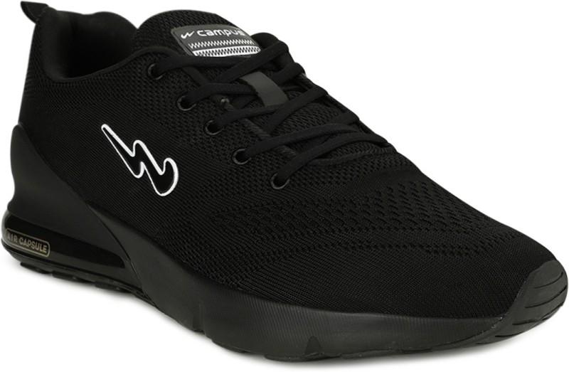CAMPUS NORTH PLUS Running Shoes For Men(Black)