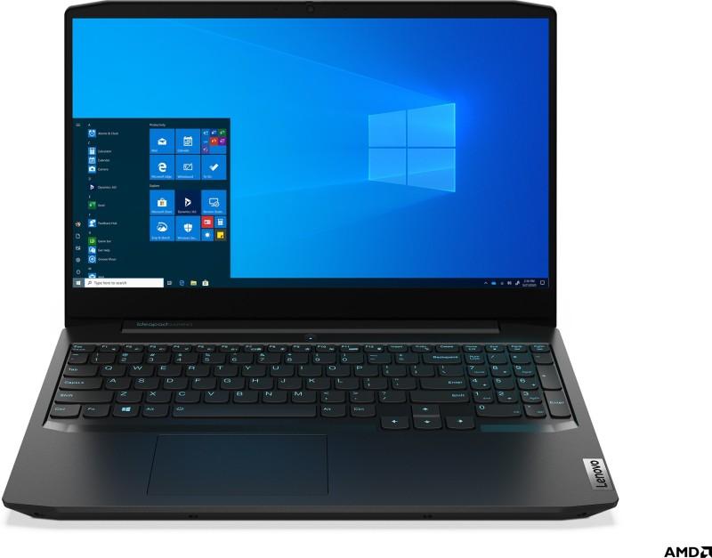 Lenovo Ideapad Gaming 3 Ryzen 5 Hexa Core - (8 GB/1 TB HDD/256 GB SSD/Windows 10 Home/4 GB Graphics/NVIDIA Geforce GTX 1650 Ti) 15ARH05 Gaming Laptop(15.6 inch, Onyx Black, 2.2 kg, With MS Office)