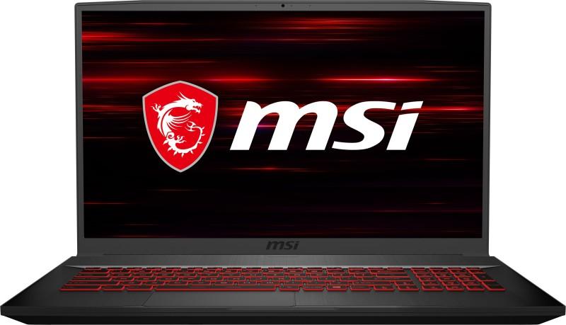 MSI GF75 Thin Core i7 9th Gen - (16 GB/1 TB HDD/256 GB SSD/Windows 10 Home/4 GB Graphics/NVIDIA Geforce GTX 1650 Ti) GF75 Thin 9SCSR-456IN Gaming Laptop(17.3 inch, Black, 2.2 kg)