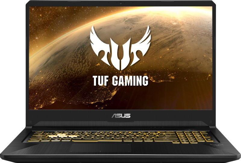 Asus TUF Ryzen 7 Quad Core 3750H - (8 GB/512 GB SSD/Windows 10 Home/4 GB Graphics/NVIDIA GeForce GTX 1650/60 Hz) FX705DT-AU028T Gaming Laptop(17.3 inch, Black Plastic, 2.70 kg)