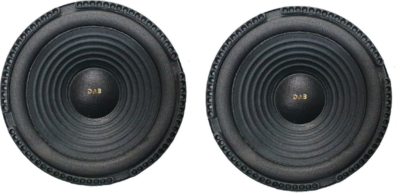 DAB 8 inch Pair ( 2 pieces) 9017 Magnet Subwoofer(Powered , RMS Power: 150 W)