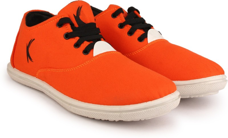 KANEGGYE Sneakers For Men(Orange)