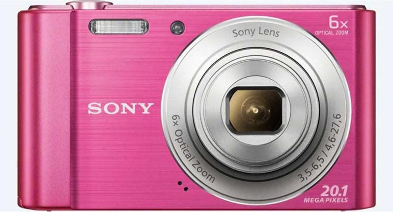 Sony CYBERSHOT DSC-W810/PC IN5(20.1 MP, 6 Optical Zoom, 12x Digital Zoom, Pink)