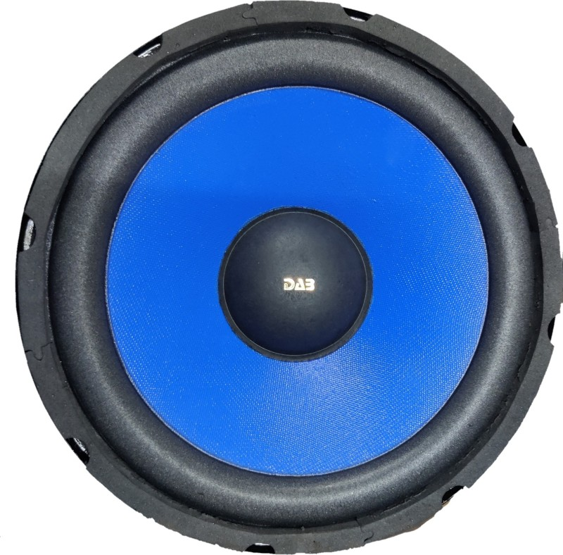 DAB 10 inch Blue 120 Magnet Car Subwoofer Subwoofer(Powered , RMS Power: 400 W)