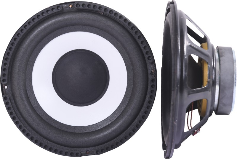 Barry John BJ-8'-SUBWFR-2 8 Inch Subwoofer 8 ohm 50 Watt HiFi Woofer Deep Bass/Heavy Magnet Subwoofer for Home Theater (Pack of 2) Subwoofer(Passive , RMS Power: 50 W)